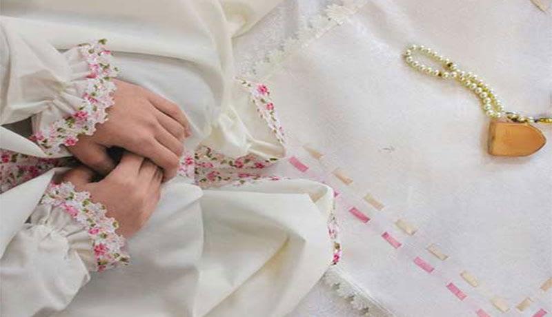 چادر نماز جشن تکلیف رنگی